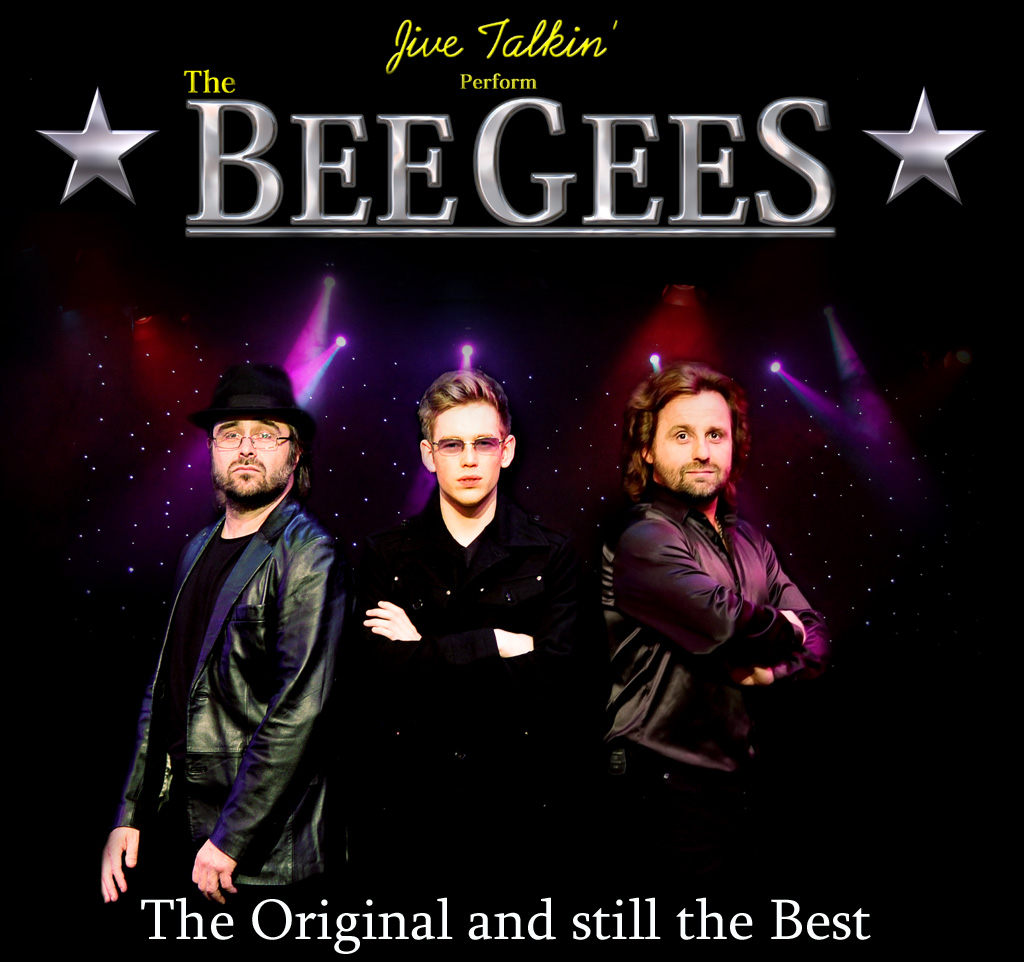 Jive Talkin' Bee Gees Tribute Band and Theatre Show